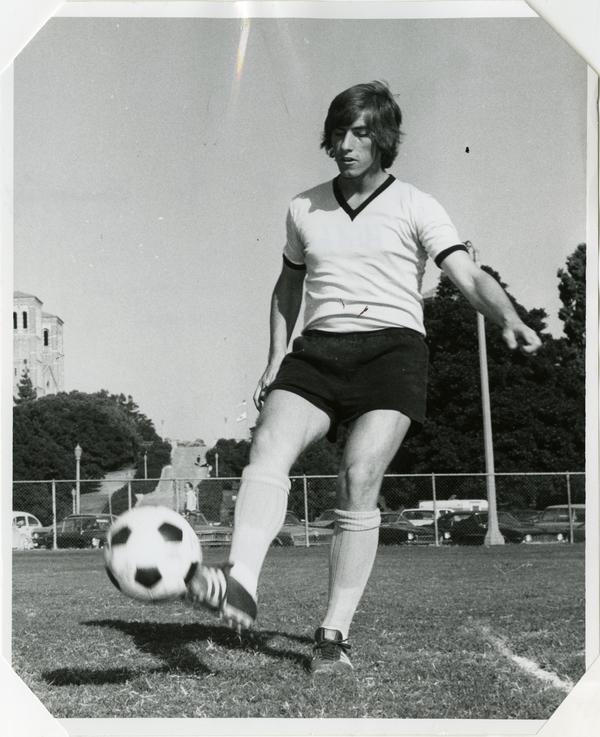 Soccer player, Sigi Schmid, 1973