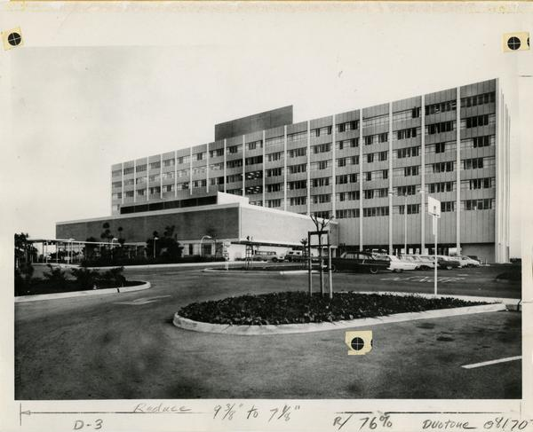 Exterior of the Harbor General Hospital
