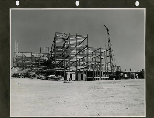Construction for the UCLA medical center, c. 1951