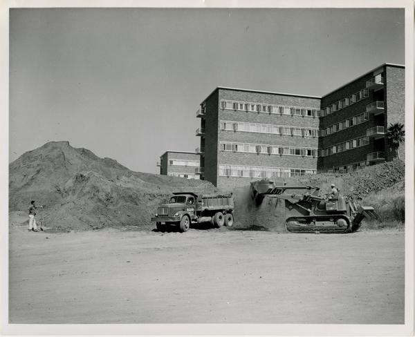 UCLA Medical Center during construction