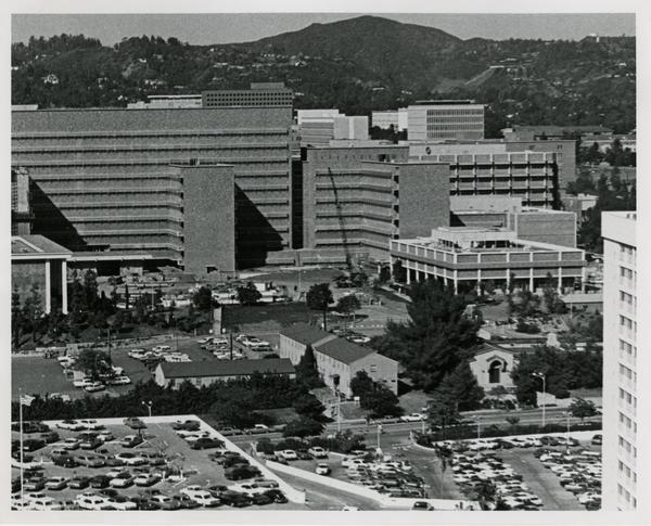 View of UCLA Medical Center