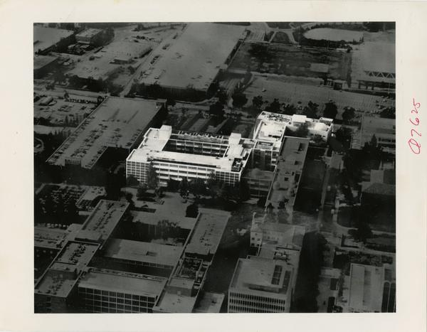 Aerial view of UCLA Medical Center