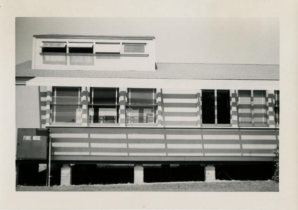 UCLA School of Medicine temporary surgery building, September 3, 1951