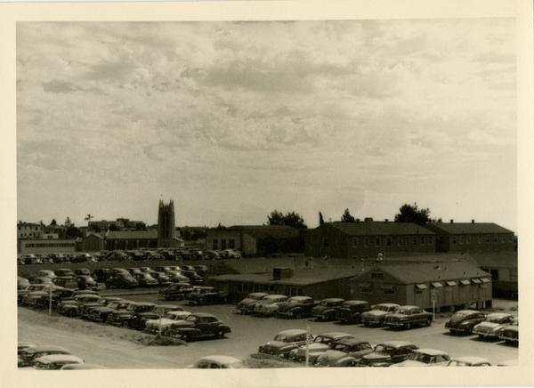 UCLA School of Medicine dedication year, ca. 1951