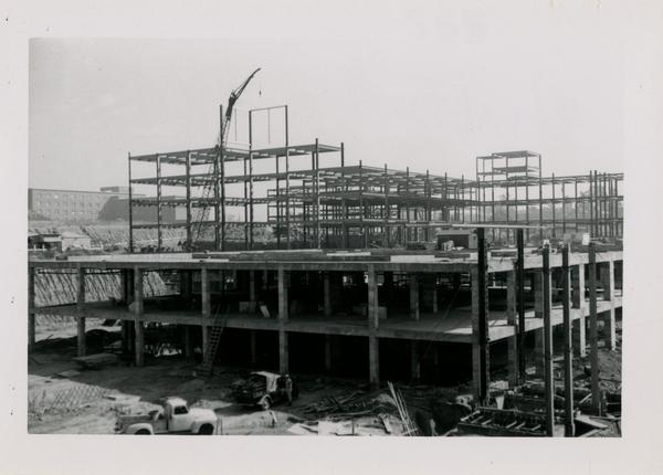 UCLA Medical Center during construction, September 20, 1952