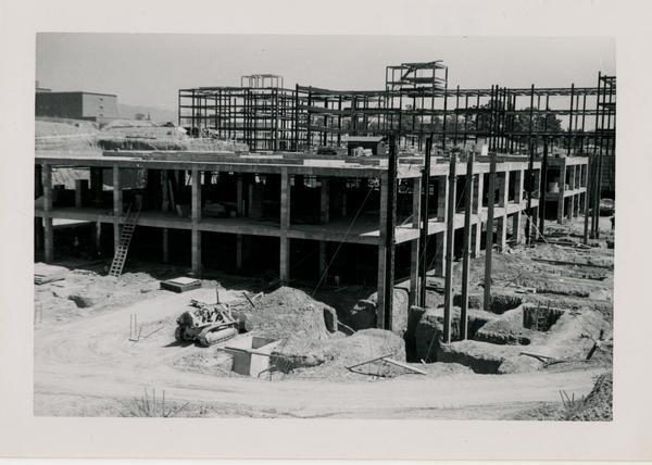 UCLA Medical Center during construction, September 5, 1952