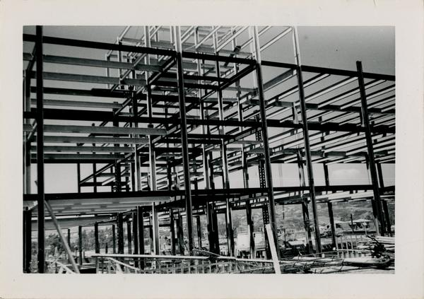 UCLA Medical Center during construction, September 5, 1952