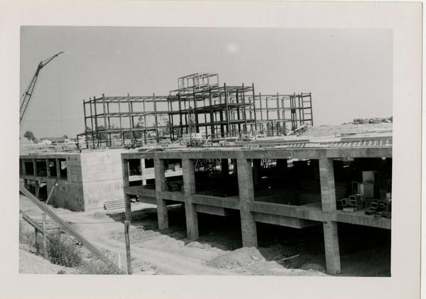 UCLA Medical Center during construction, June 22, 1952