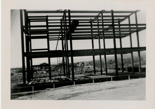 UCLA Medical Center during construction, May 10, 1952