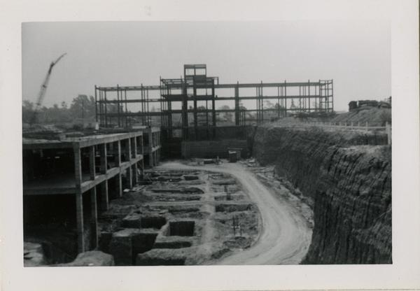 UCLA Medical Center during construction, July 6, 1952