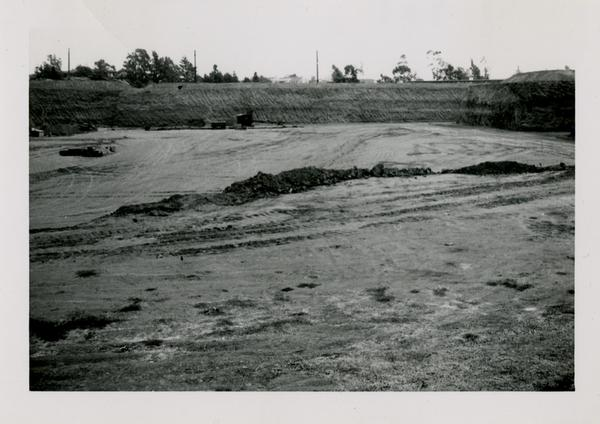 Looking east at UCLA Medical Center during construction, October 20, 1951
