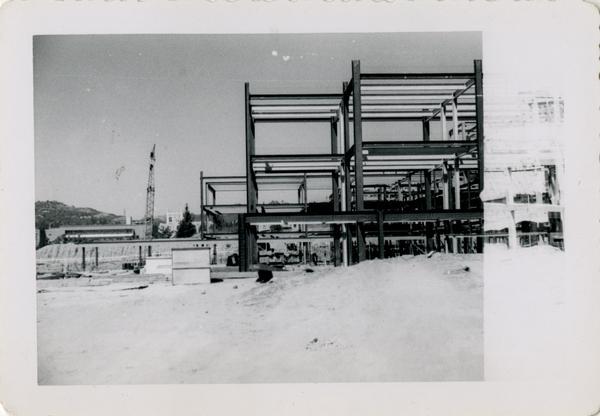 UCLA Medical Center during construction, September 13, 1952