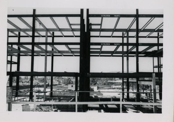 UCLA Medical Center during construction, September 13, 1952