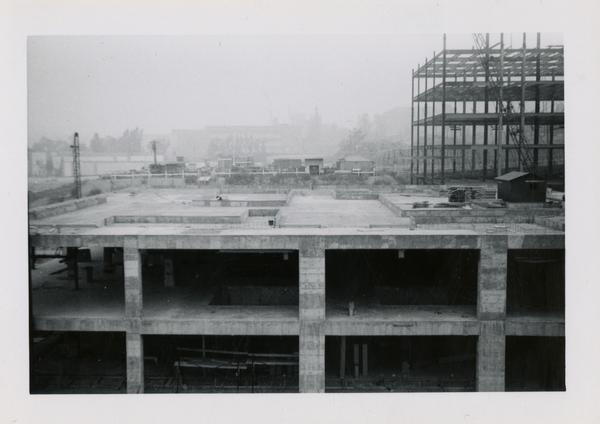 UCLA Medical Center during construction, September 27, 1952