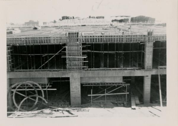 Looking south at UCLA Medical Center during construction, May 10, 1952