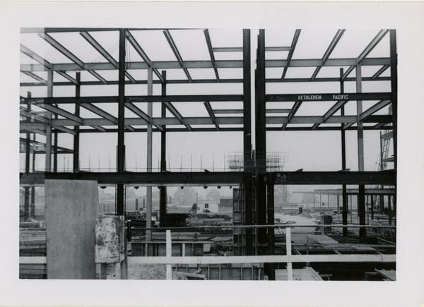 UCLA Medical Center during construction, September 27, 1952