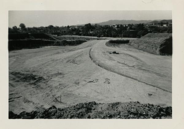 Looking west at UCLA Medical Center during construction, October 7, 1951