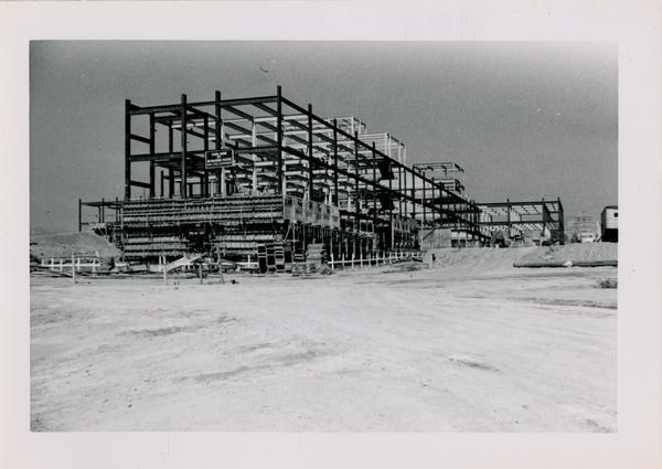UCLA Medical Center during construction, October 5, 1952