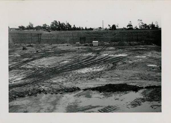 Looking east at UCLA Medical Center during construction, November 22, 1951