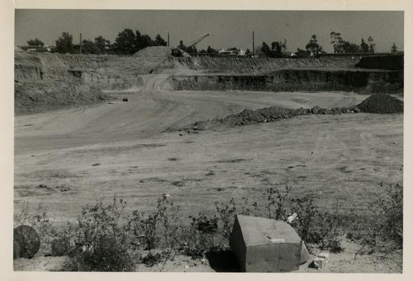 Looking east at UCLA Medical Center during construction, September 22, 1951