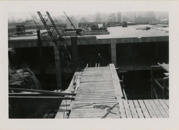 Looking west at UCLA Medical Center during construction, May 24, 1952