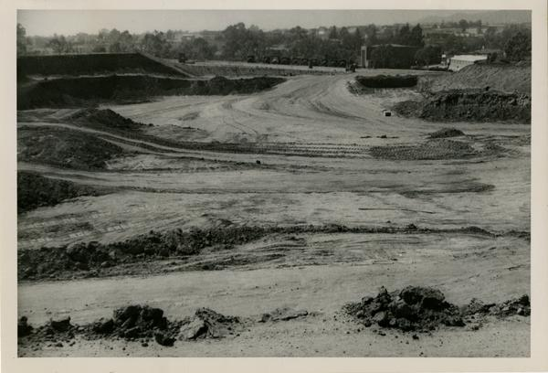 Looking west at UCLA Medical Center during construction, September 22, 1951