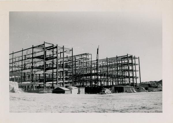 UCLA Medical Center during construction, December 14, 1952