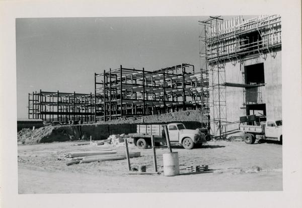UCLA Medical Center during construction, December 14, 1952