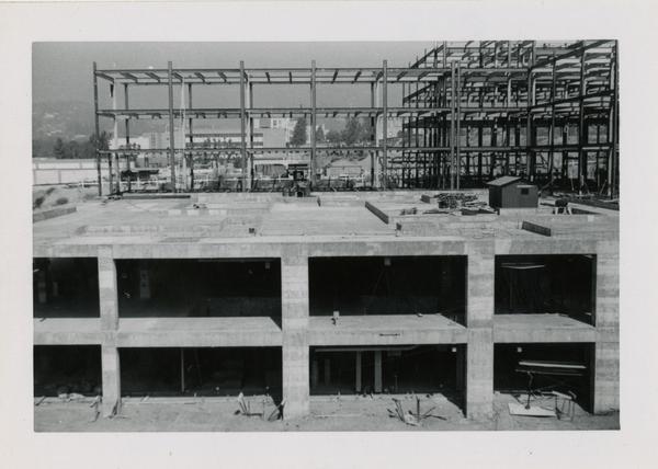 UCLA Medical Center during construction, October 12, 1952
