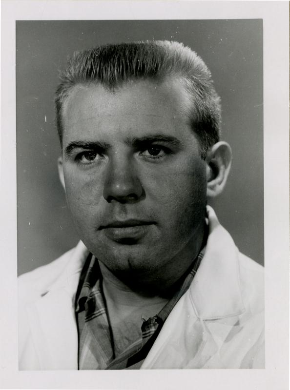 Morton Christian Reger, Jr., graduate of the medical school, class of 1959