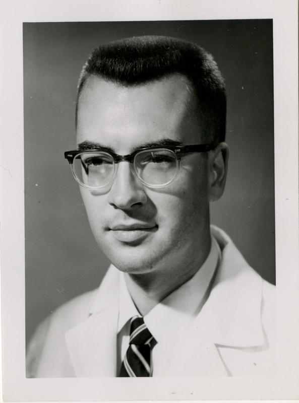 Harry Leo Reger, graduate of the medical school, class of 1959