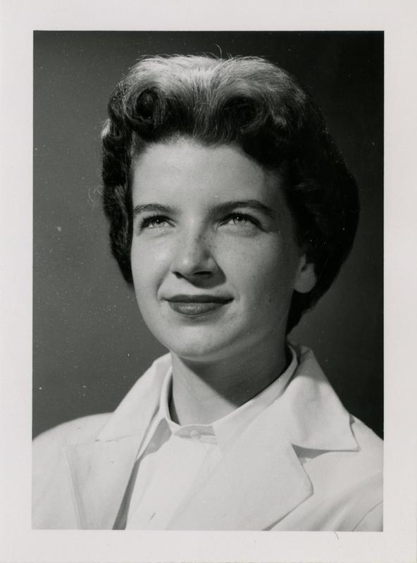 Bridget Penelope Gray, graduate of the medical school, class of 1959