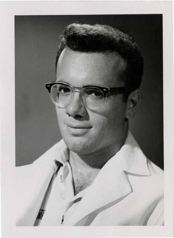 Hugh Francisco Hagelin, graduate of the medical school, class of 1959