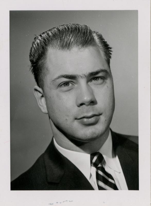 Edmund Dombrowski, graduate of the medical school, class of 1959