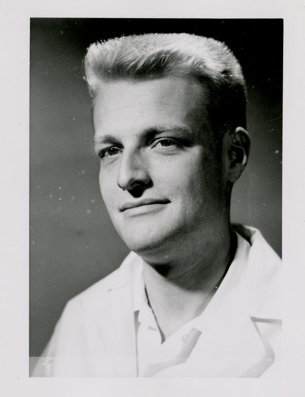 Frederick Bettin, graduate of the medical school, class of 1959