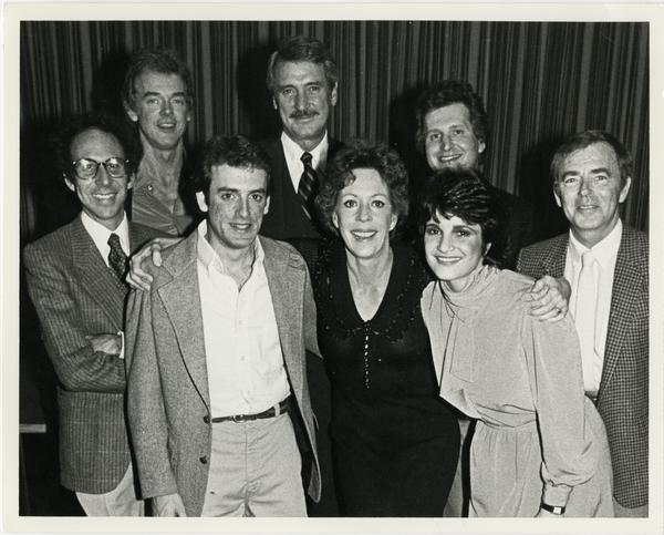 Group of unidentified people attending the Carol Burnett awards