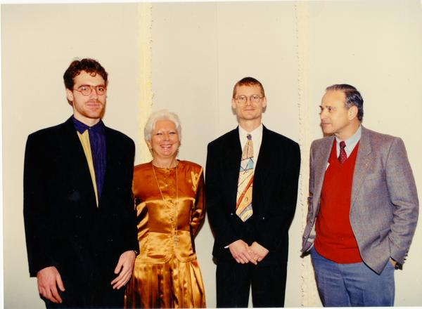 Group at FIAR International Prize ceremony, February 1993