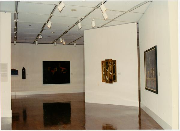 View of gallery at FIAR International Prize event, February 1993