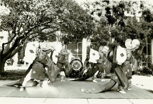 Japanese Court Dance Bugaku at Ethno Spring Festival, 1986