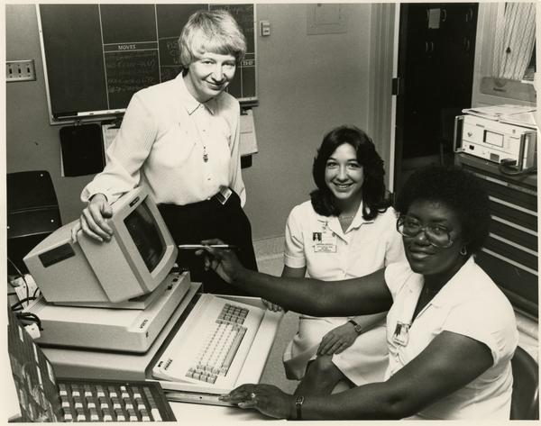 ADT Computer System gets reviewed by ADT and Nursing Services, 1984