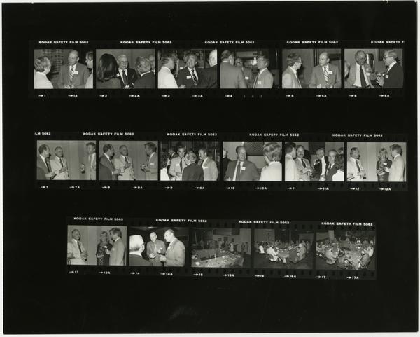 Aesculapian Executive Board Meeting, Contact Sheet, 1981