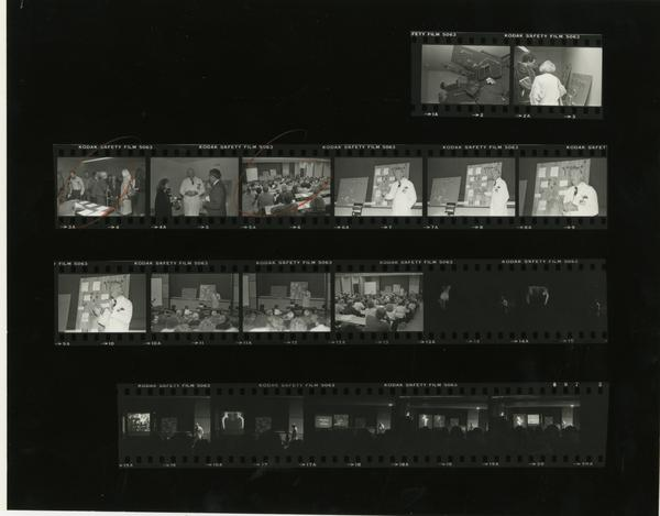 Aesculapian Lecture, Contact Sheet, 1985