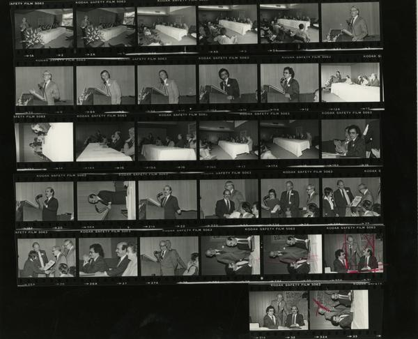 Aging Conference, Contact Sheet, 1980