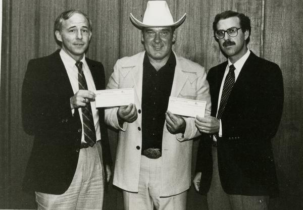 AIDS research check pres (9/21/1983)