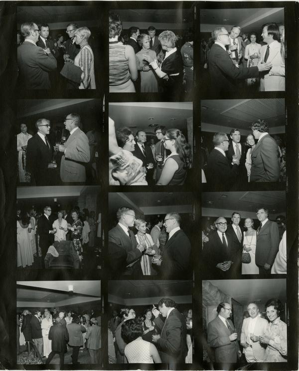 Medicine Alumni Event, Contact Sheet, 1975