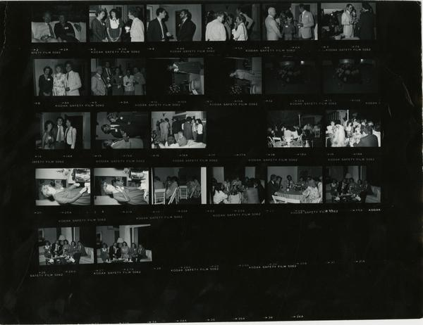Apollonian Dinner party at Dean Hooley residence, 1982