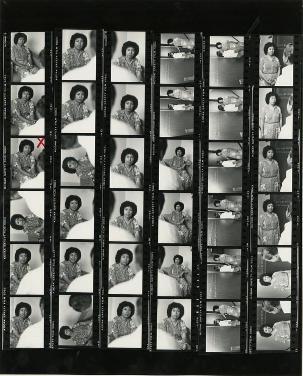 Contact sheet of Asian Pacific Council / Nursing Center (5/10/1984)