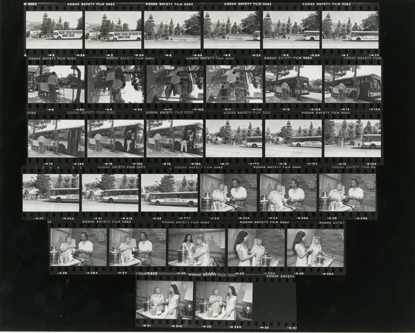 Contact sheet of Medical Annex Brochure (8/17/1984)