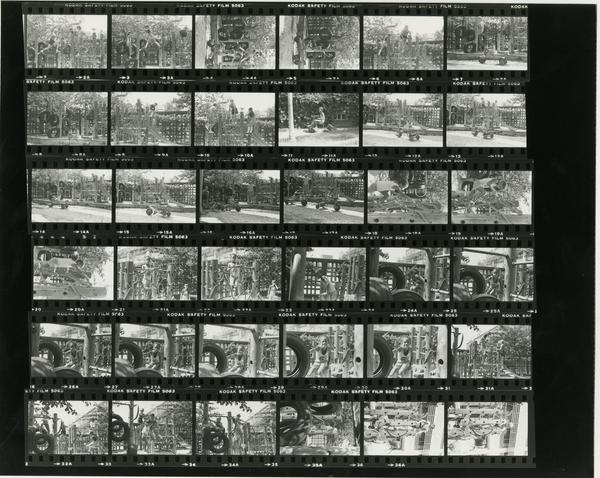 Contact sheet of Medical Annex Brochure / Ancillary Brochure (8/17/1984)
