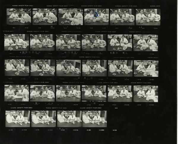 Contact sheet of Bore Growth Conference, 1982
